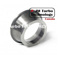 "3"" to 4"" Turbo Exhaust Downpipe V-Band Adapter For Dodge Ram HX35 / HX40 Turbocharger"