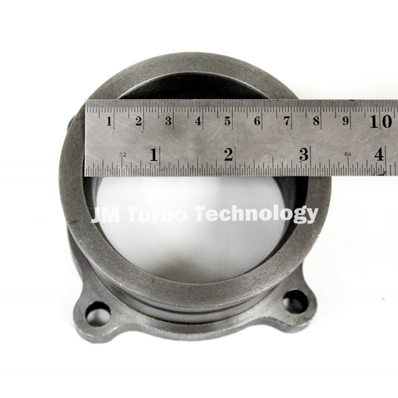 3'' to 3'' V-Band Turbo Downpipe Exhaust Flange Adapter