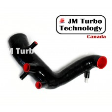 VW 99-05 Jetta 1.8T MK4 Silicone Turbo Inlet Air Intake Hose Black