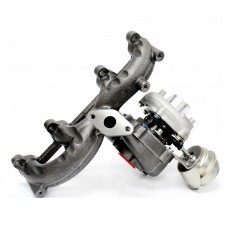 Volkswagen Beetle Golf Jetta TDI 1.9L Diesel Turbocharger with Exhaust Manifold